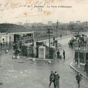 Porte d'Allemagne à Pantin