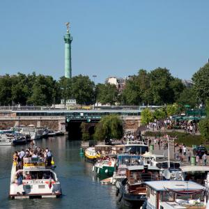 Port de Paris -Arsenal© Office de Tourisme de Paris - Amélie Dupont
