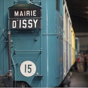 Un siècle de patrimoine roulant - la gare de triage de la RATP