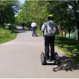 """Balade en gyropode """"Les bords de Marne, Le Parc du Tremblay"""""""