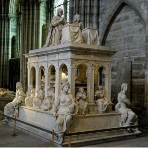 Monument funéraire de Louis XII et Anne de Bretagne, 1515 Basilique de Saint-Denis, CMN