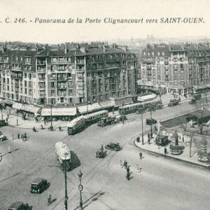 HBM de la Porte de Clignancourt