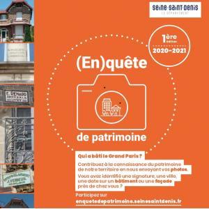 (En)quête de patrimoine - © Conseil Départemental de la Seine-Saint-Denis