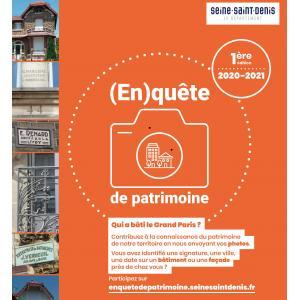 (En)quête de patrimoine © Conseil Départemental de la Seine-saint-Denis