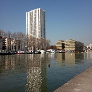 Bassin de La Villette, un quartier en pleine mutation