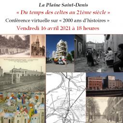 La Plaine Saint-Denis, 2000 ans d'histoires - Conférence virtuelle