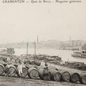 Charenton et le vin : lorsque Bercy était le cellier du monde - Conférence virtuelle