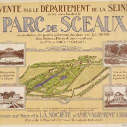 Création du lotissement du Parc de Sceaux et sélection de maisons d'architectes des années 30 et 50 - Conférence virtuelle