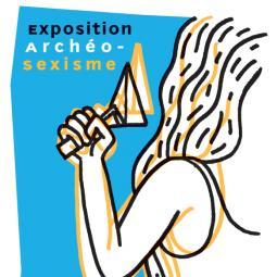 Visite de l'exposition archéo-sexisme à l'archéosite de la Haute-Ile