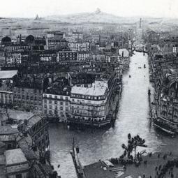 Paris sous les eaux, une histoire des crues de la Seine à Paris - Conférence virtuelle
