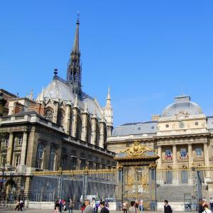 The Paris 800 years old Court - Virtual conference