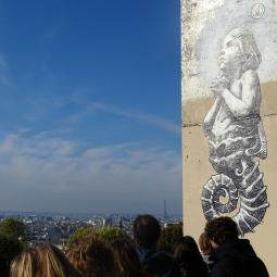 Street Art tour in Paris Belleville - Virtual conference