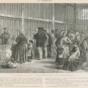 Les communeuses à Saint Lazare