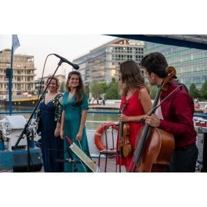 Concert flottant 2020 Les Jeunes Talents de l'Académie Jaroussky au fil de l'eau - 3 escales