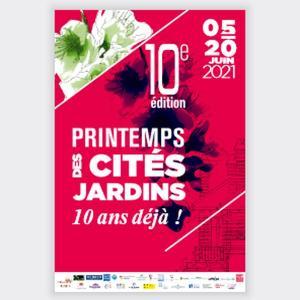 Les cités-jardins d'Epinay-sur-Seine -Printemps des cités-jardins