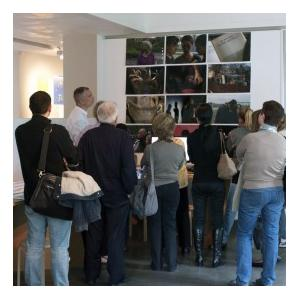 "Visite de l'exposition ""Performance TV"""