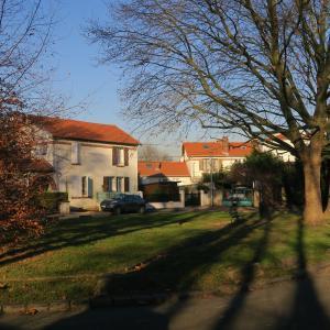 La cité Jardin du Moulin Vert de Vitry-sur-Seine