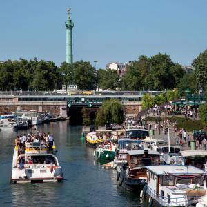 Le Port de l'Arsenal© Office de Tourisme de Paris - Photographe Amélie Dupont