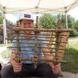 De terre et de bois : clayonnage et torchis à l'Archéosite de la Haute-Île