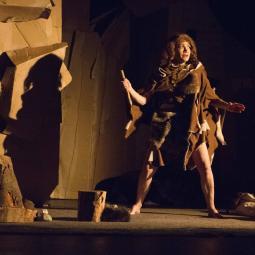 Madame de Néandertal : spectacle à l'archéosite de la Haute-Île