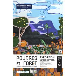 Balade à vélo sur l'Ourcq et visite guidée de l'exposition Poudres et Forêts