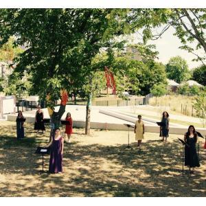 Concert a cappella dans le Parc Georges Valbon - Sequenza 9.3