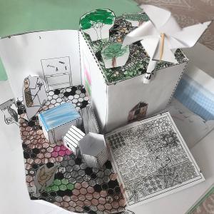 Atelier pour enfant éco-défi : le  papier en mouvement
