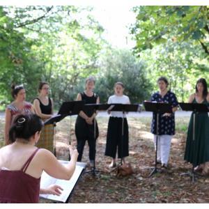 Atelier de pratique vocale au Parc Jean Moulin Les Guilands - Sequenza 9.3