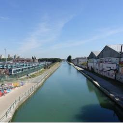 Agriculture urbaine et passé maraîcher le long du canal de l'Ourcq