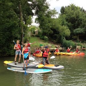 Randonnées en kayak autour des îles de la Marne
