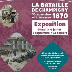 La bataille de Champigny - Expo à Bry-sur-Marne