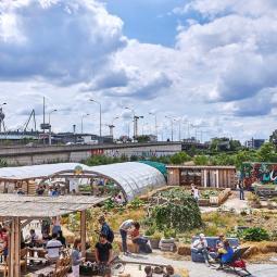 Croisière agriculture urbaine + visite de la Prairie du canal