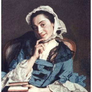 Portrait de Madame d'Épinal par Jean-Étienne Liotard