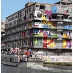 Croisière street art sur l'Ourcq + Expo HOTEL SAHARA aux Magasins Généraux