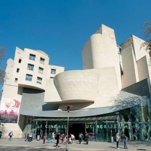 Cinémathèque©OTCP-Photographe : Daniel Thierry- Architecte :  Frank Gehry