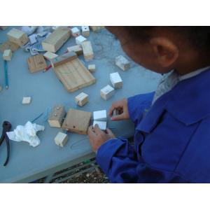 Atelier menuiserie et fabrication au Parc de la Bergère