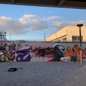 Croisière street art + Bloc party Hip Hop Dôme