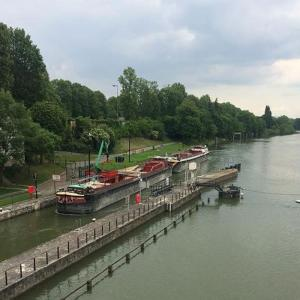 Les rives de la Marne à Saint-Maurice