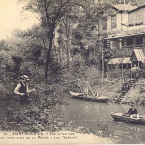 Cartes postales anciennes Saint-Maurice
