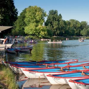 Le lac Daumesnil © Office de Tourisme de Paris - Photographe : Daniel Thierry
