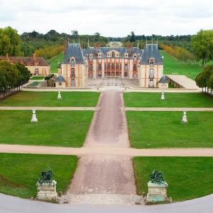 Balade nature dans le parc du château de  Grosbois