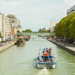 Croisière sur l'Ourcq + découverte du parc de la Villette
