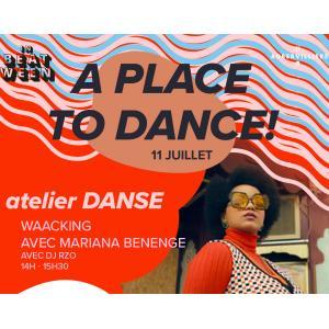 Atelier dance Waacking avec Mariana Benenge