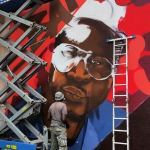 Spécial été - Street-art entre Ourq living Colors et la Block Party History in the Making