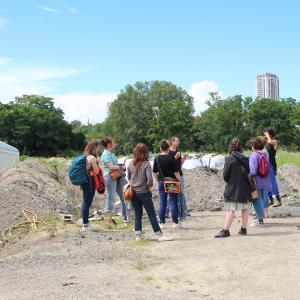 Lil'O sur l'Ile-Saint-Denis, visite historique et pédagogique