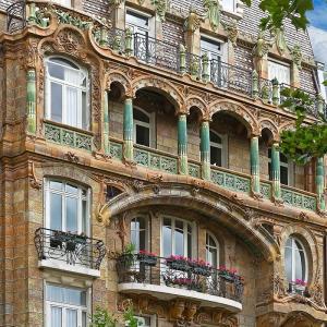 Un Art Nouveau explosif dans le 7ème arrondissement