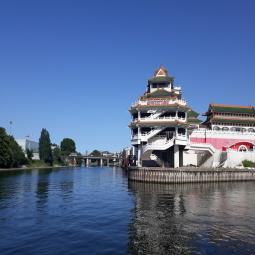 Croisière sur la Seine Amont : Architectures au bord de l'eau