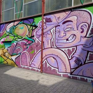 Visite de Vitry, la capitale française du street art, avec un artiste
