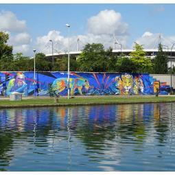 Croisière street-art du canal saint-Denis à la Halle Papin 2