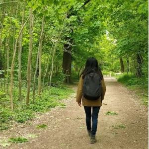 La marche et méditation au Bois de Vincennes